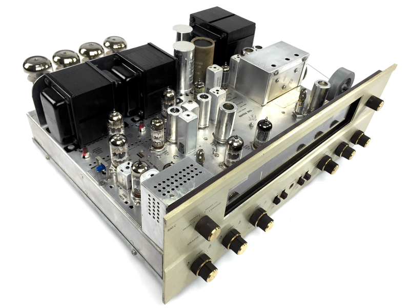 Expert stereo tube amplifier repair and restoration