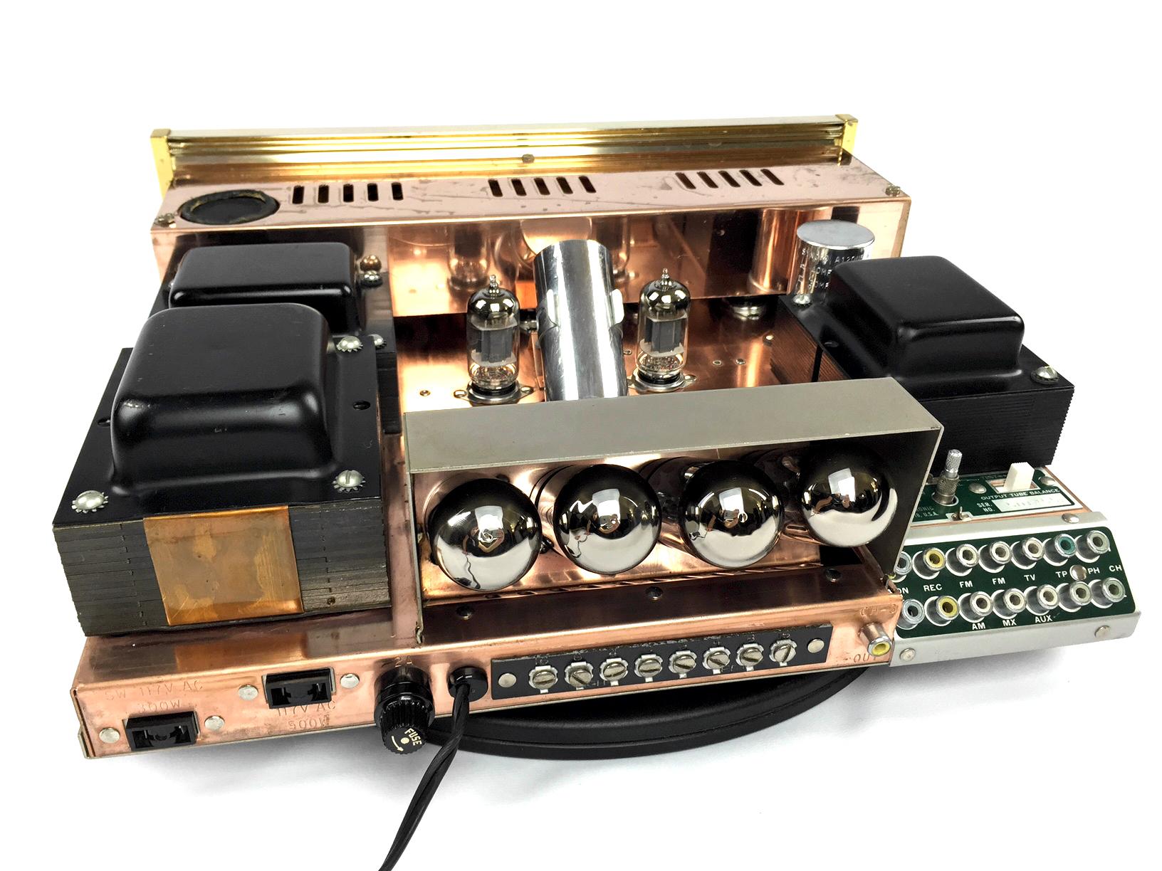 Sherwood S5000 II restored. Fully restored Sherwood 5000 tube amplifier
